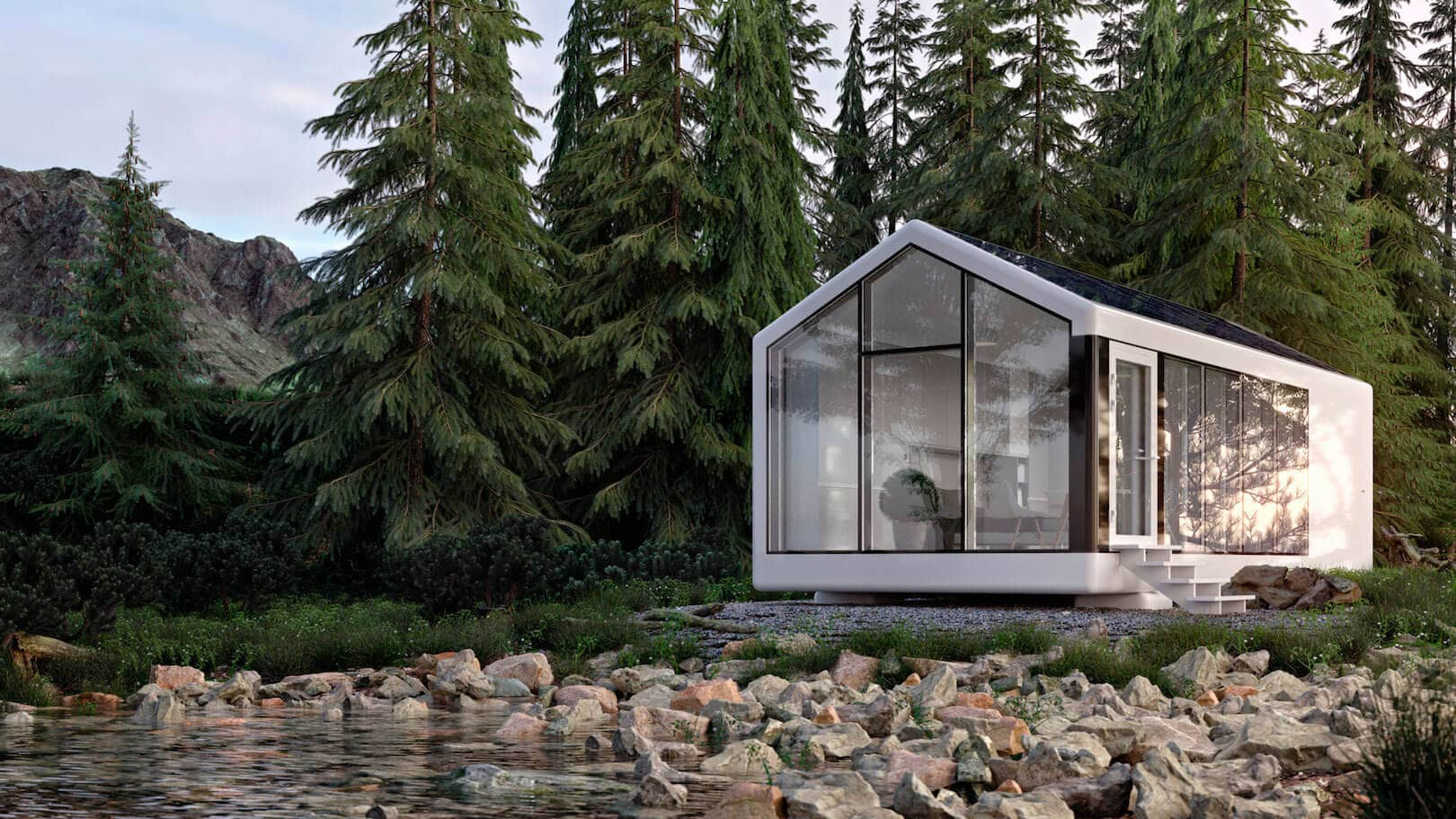 Get ready to deploy a 3D printed house, off the grid